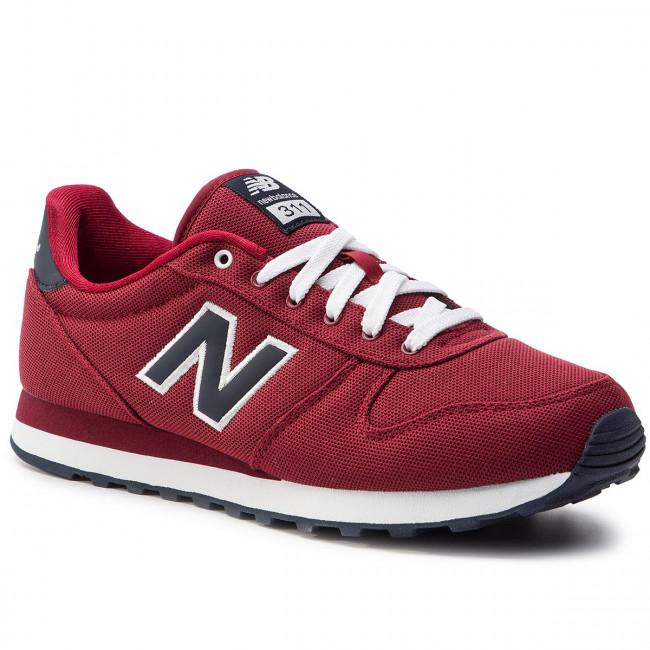 718134036dba Sneakers NEW BALANCE - ML311PR Bordeaux - Sneakers - Scarpe basse ...