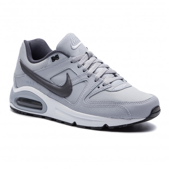 new arrival a1a8c 7f51a Scarpe NIKE - Air Max Command Leather 749760 Wolf Grey Mtlc Dark Grey Black