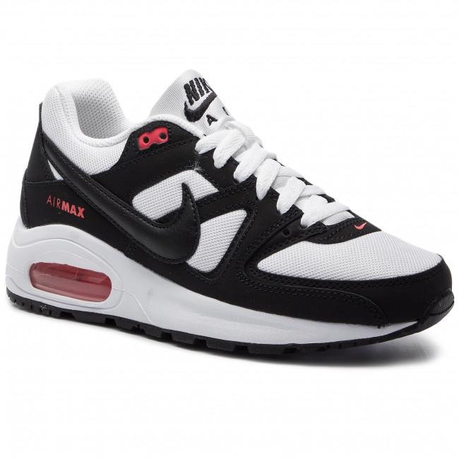 sports shoes 7418e e4d1d Scarpe NIKE - Air Max Command Flex (GS) 844346 100 White Black