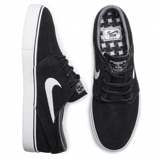 Scarpe NIKE Zoom Stefan Janoski Og 833603 012 BlackWhiteGum Light Brown