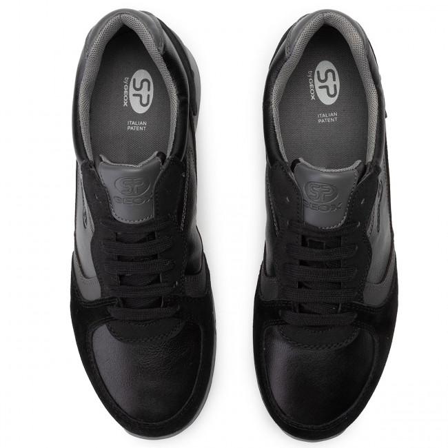 Sneakers GEOX U Wilmer A U943XA 0BCME C9270 BlackAnthracite