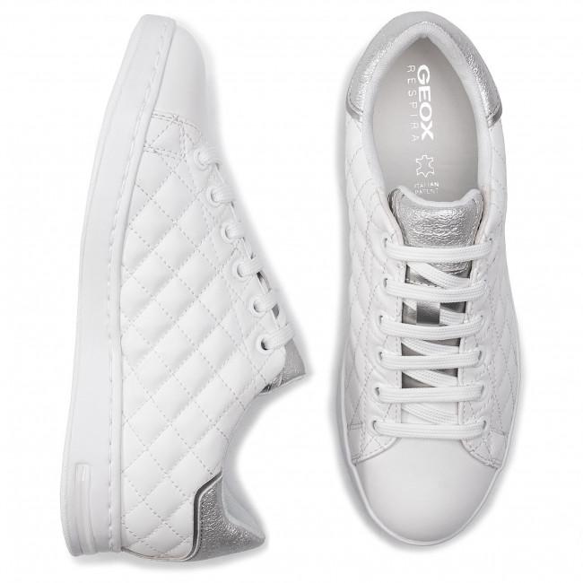 Sneakers GEOX D Jaysen D D941BD 0BCBN C0007 WhiteSilver