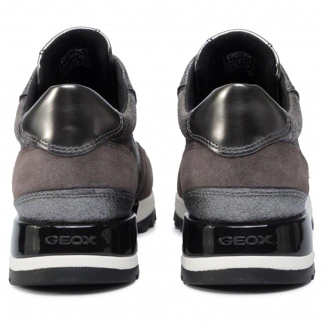 Sneakers GEOX D Tabelya A D94AQA 0VIBN C9H6J LeadChestnut