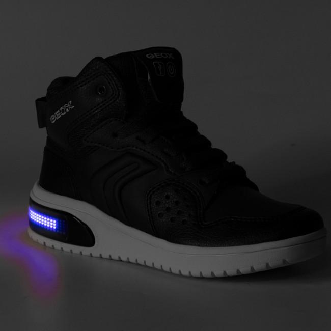Sneakers GEOX J Xled B. A J947QA 0BCBU C0700 S NavyAvio
