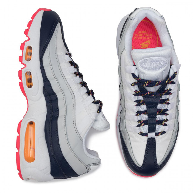 Scarpe NIKE Air Max 95 307960 405 Midnight NavyLaser Orange