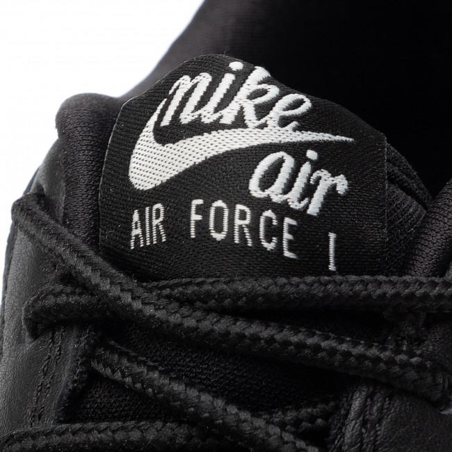 Scarpe NIKE Air Force 1 Prm Emb (Gs) AV0750 001 Black