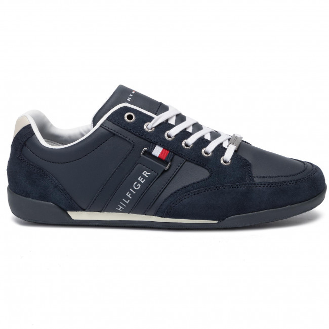 03a6aaf785 Sneakers TOMMY HILFIGER - Corporate Material Mix Cupsole FM0FM02398  Midnight 403