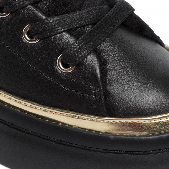 Sneakers TOMMY HILFIGER Cosy Lace Leather Sneaker FW0FW04538 BDS