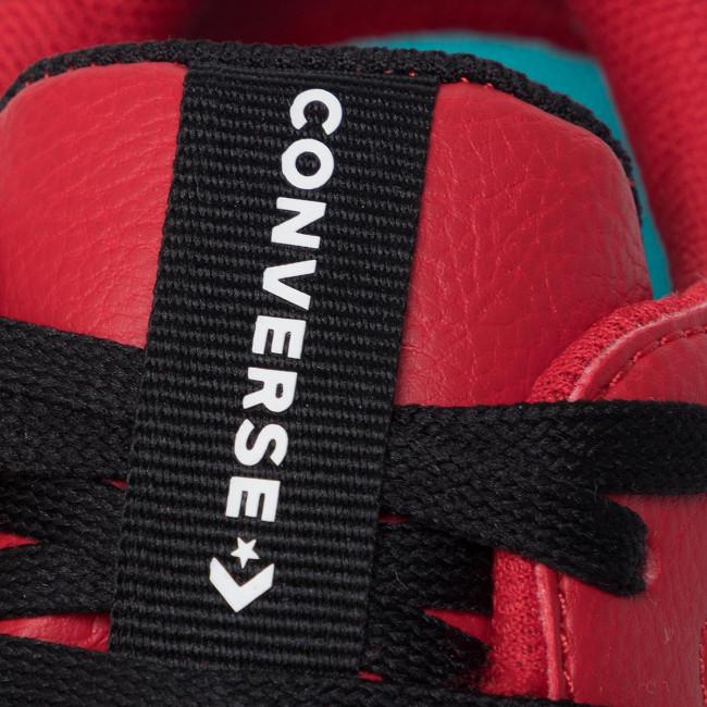 Sneakers CONVERSE Rival Ox 164895C BlackEnamel RedWhite