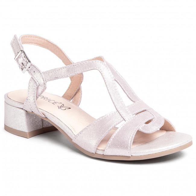 Sandali CAPRICE - 9-28201-24 Silver Metal. 920 - Sandali da giorno - Sandali - Ciabatte e sandali - Donna   escarpe.it