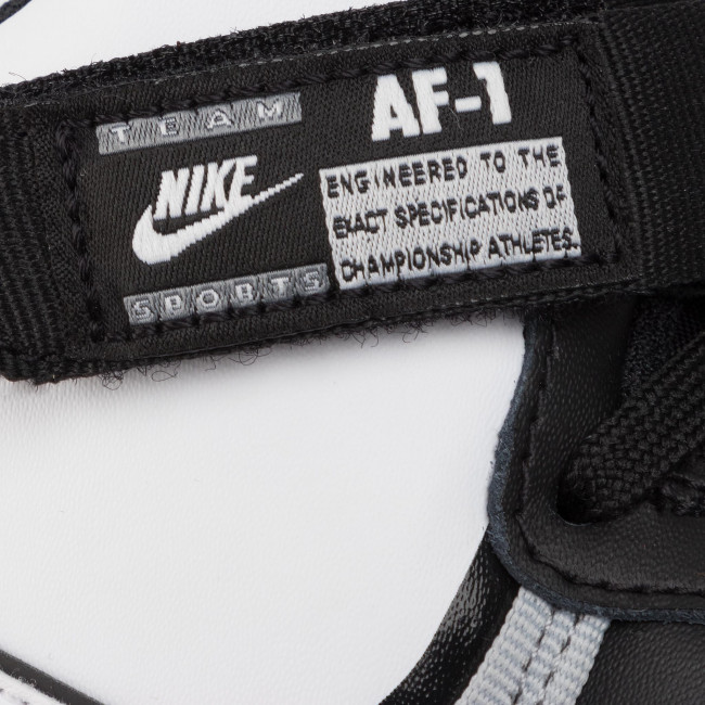 Scarpe NIKE Air Force 1 High Lv8 2 (Gs) CI2164 010 BlackWhiteWolf GreyWhite