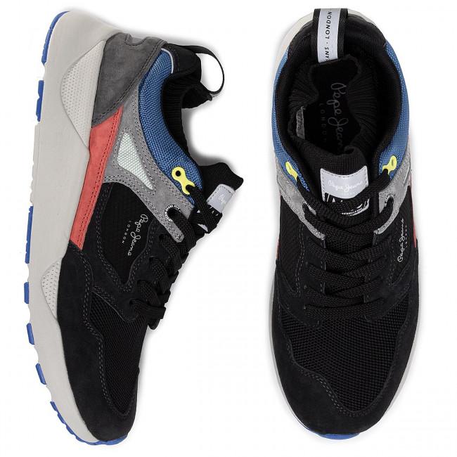 Sneakers PEPE JEANS Orbital M 25 Pro PMS30568 Black 999