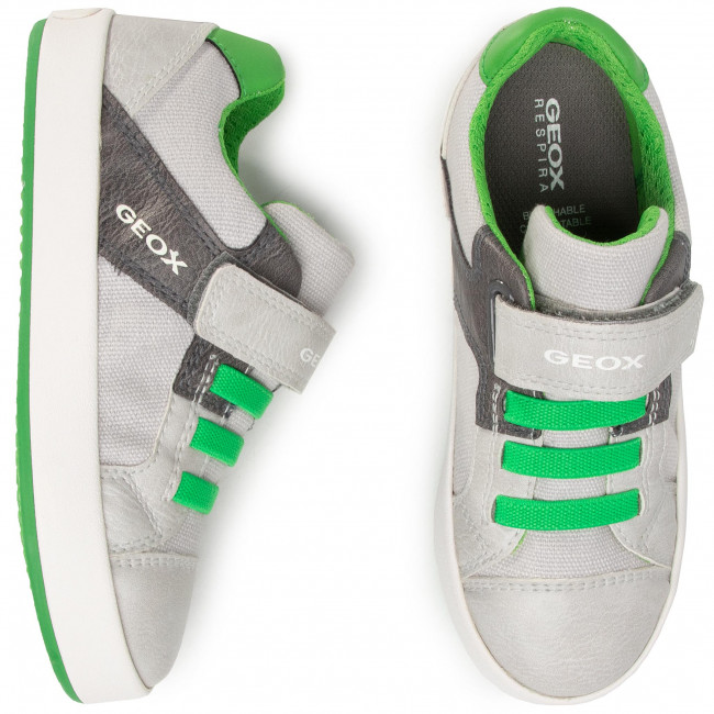 Sneakers GEOX J Gisli B. B J025CB 010FE C0001 S GreyDk Grey