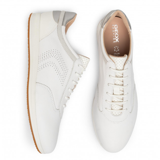 Sneakers GEOX D Avery C D02H5C 08554 C1000 White