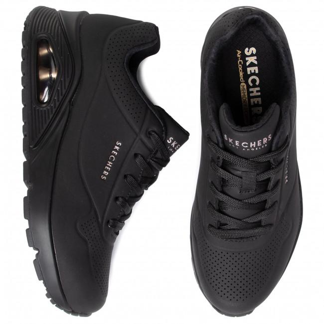 Sneakers SKECHERS Uno Stand On Air 73690BBK Black