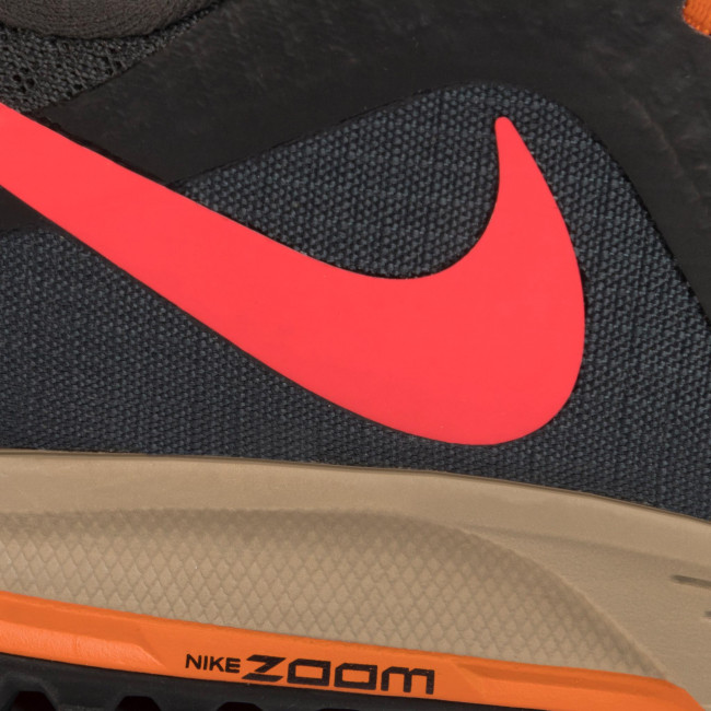 Scarpe NIKE Air Zoom Wildhorse 5 AQ2222 002 Dk Smoke GreyLaser Crimson