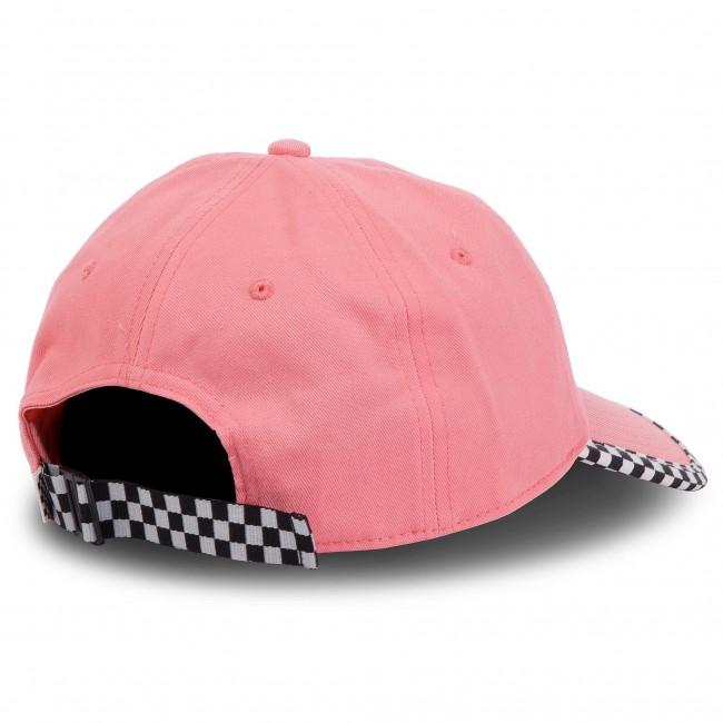 Cappello con visiera VANS - Check It Hat VN0A3UQDUV71 Strawberry Pink 1f4d4cb3a496