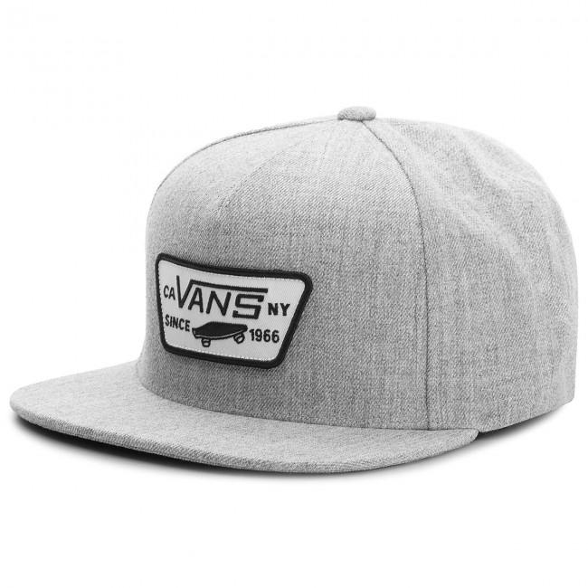 Cappello con visiera VANS - Full Patch Snap VN000QPUHTG Heather Grey ... 463dd933582c