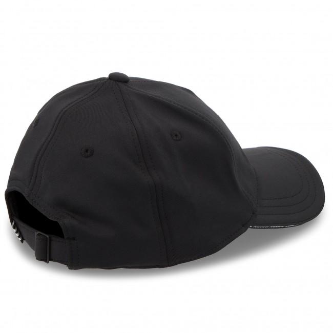 Cappello con visiera adidas - Cap DH4409 Black White - Donna ... b841acac47a0