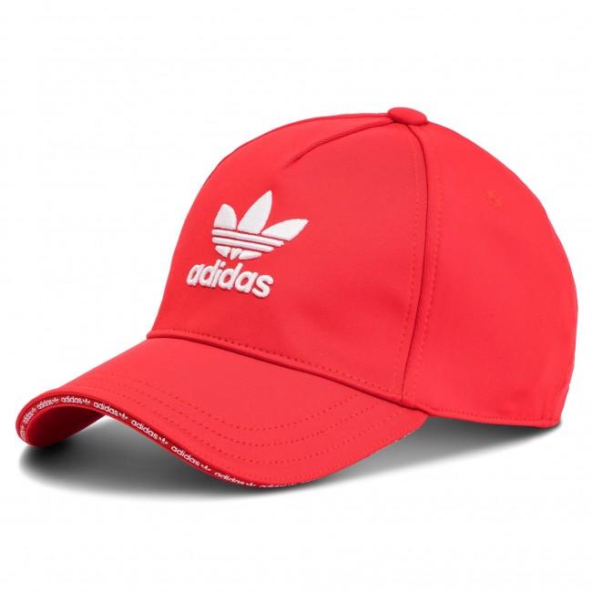 Cappello con visiera adidas - Cap DH4414 Red White - Donna ... fbab57c86471