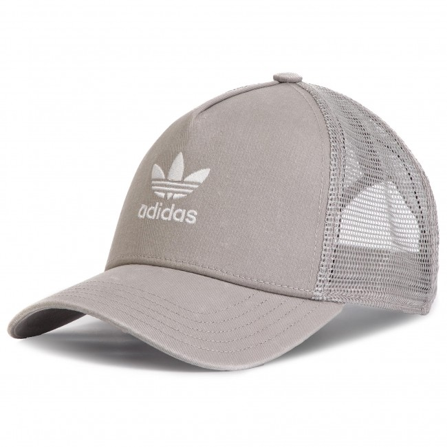 Cappello con visiera adidas - Trefoil Trucker DV0232 Mgsogr White ... 534b6568a108