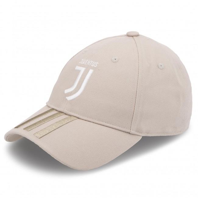 Cappello con visiera adidas - Juve 3S Cap DL8650 Sesame Clay - Donna ... 8e668ae0047a