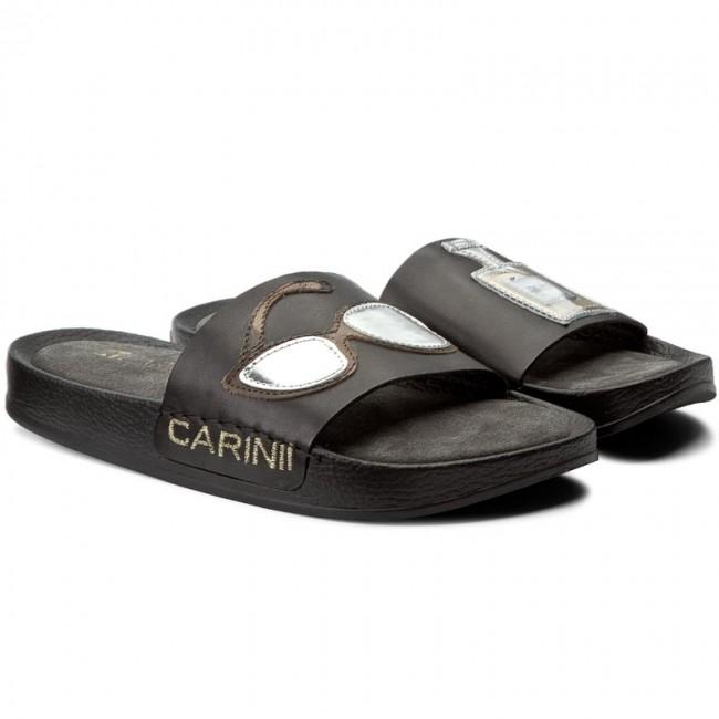 Ciabatte CARINII - B3980/OP G22-000-000 escarpe Pelle 9aNWZ