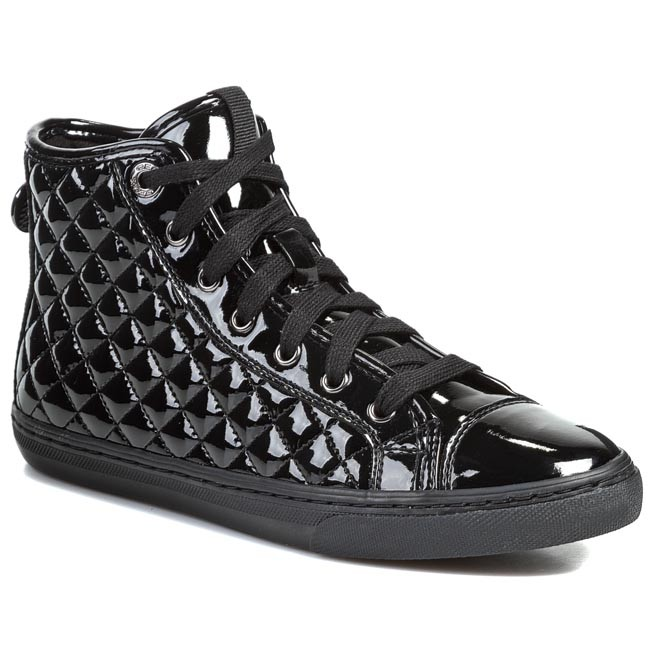 Sneakers GEOX - D New Club D D4458D 000HH C9999 Nero - Sneakers ... 8907e524858