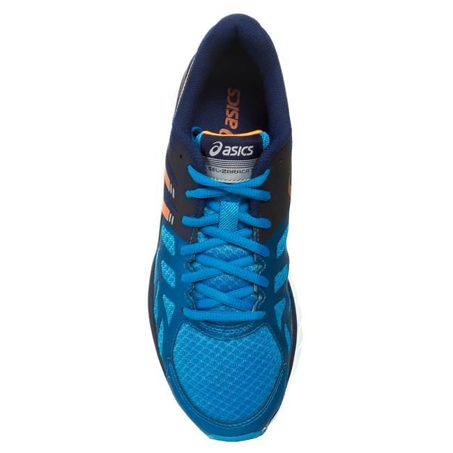 Scarpe ASICS Gel Zaraca 3 T4D3N Aqua BlueOrangeNavy 3932