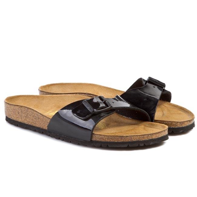 sandalo nero simil Birkenstock ecopelle nero misura 42 | eBay
