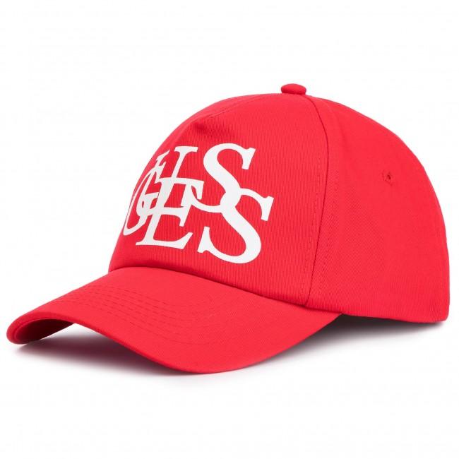 Cappello con visiera GUESS - AW8044 COT01 RED - Uomo - Cappelli ... f5e177d98cea
