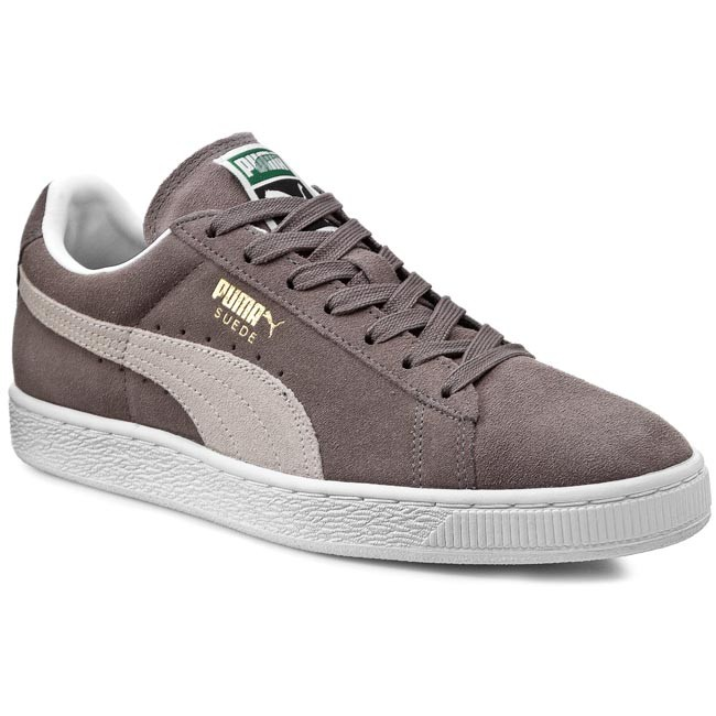 Sneakers PUMA - Suede Classic + 352634 66 Steeple Gray White ... 5fe14667bac