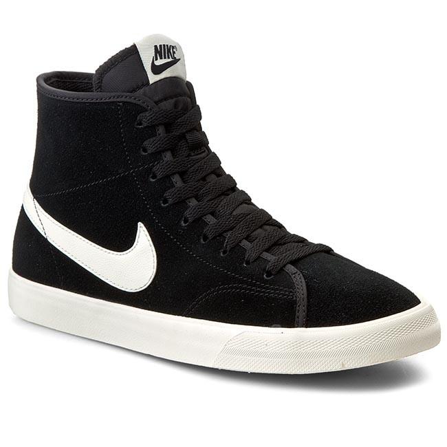 Scarpe NIKE Primo Court Mid Leather 644833 012 BlackSail