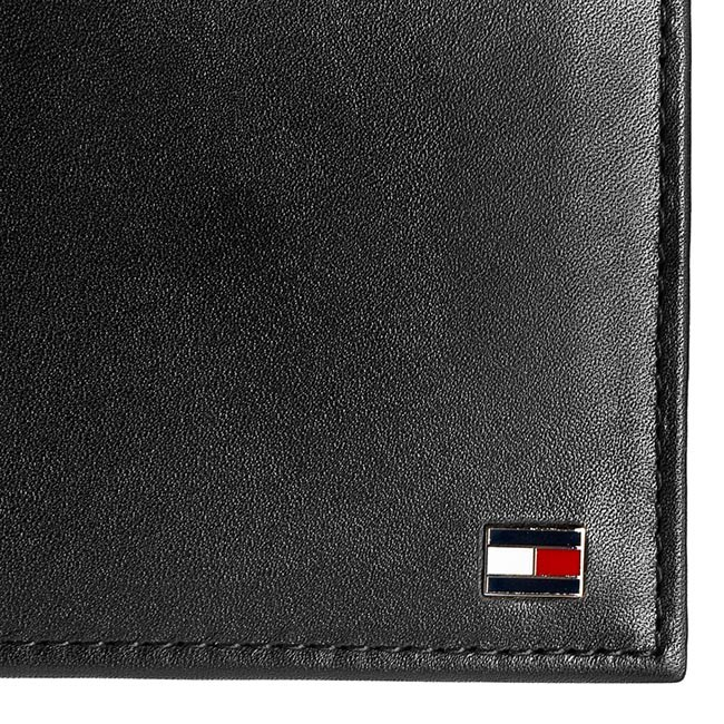 7737e28f6f Portafoglio grande da uomo TOMMY HILFIGER - Eton Cc And Coin Pocket  AM0AM00651 Black 002
