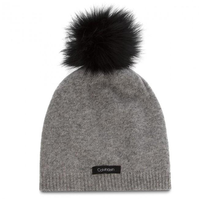 Cappello CALVIN KLEIN - 2 Clrs Pom Beani K60K604715 013 - Cappelli ... ef5d9016a3ef
