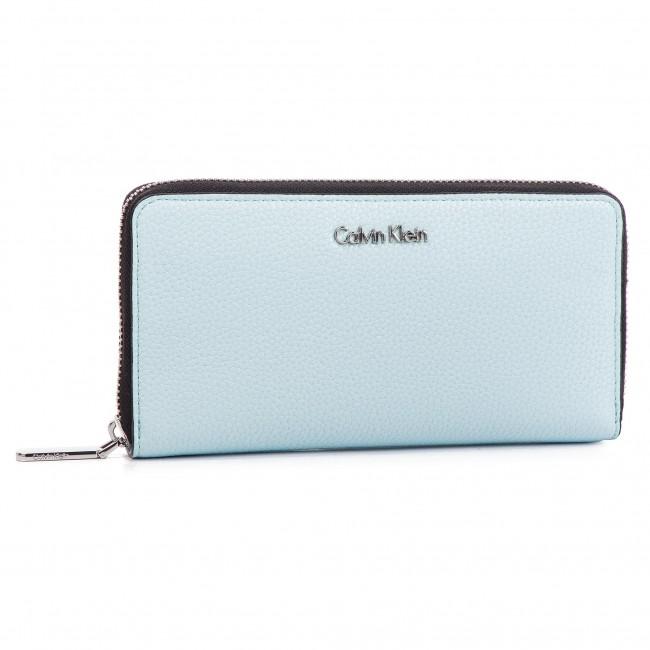 ffbb70203c Portafoglio grande da donna CALVIN KLEIN - Neat Large Ziparound K60K605101  458