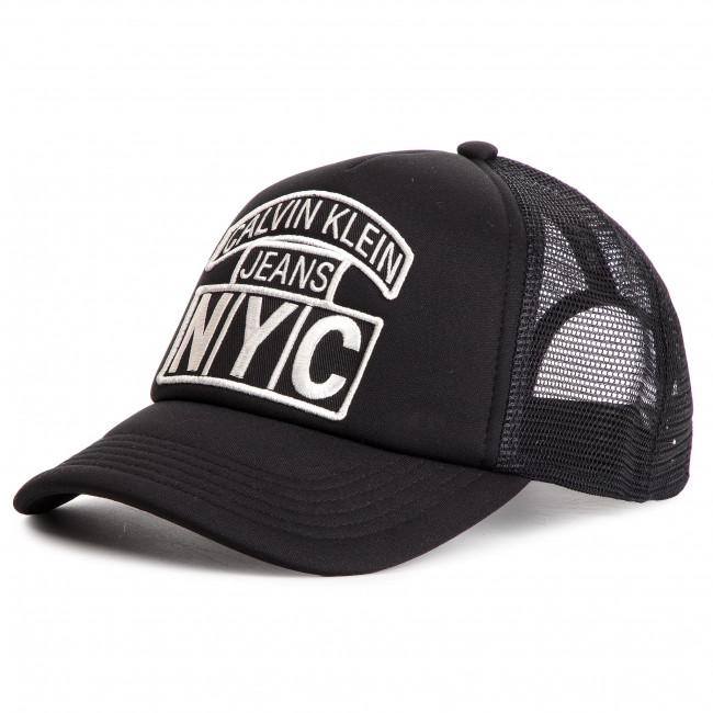 236f9d0e05 Cappello con visiera CALVIN KLEIN JEANS - J Nyc Trucker W K60K605287 016