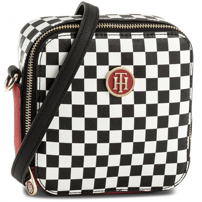 8cd03f08 Borsa TOMMY HILFIGER - Honey Sq Crossover Checker Print AW0AW04999 902