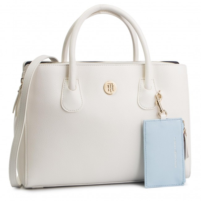 Borsa TOMMY HILFIGER - Charming Tommy Med Work Bag AW0AW06487 104 ... e90711c4135