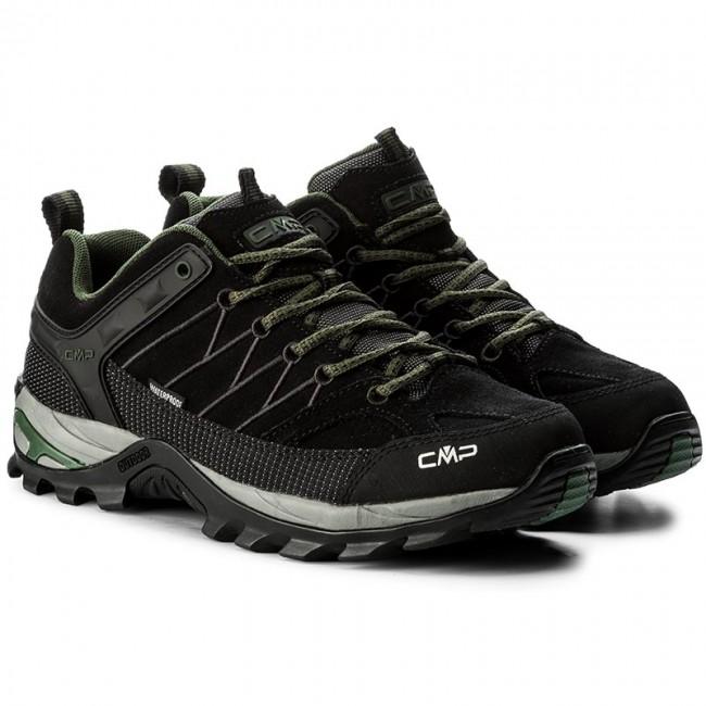 Scarpe da trekking CMP - Rigel Low Trekking Shoes Wp 3Q13247 Black Loden  87BD - Scarpe da trekking e scarponcini - Scarpe sportive - Uomo -  www.escarpe.it 3b6730d7a16