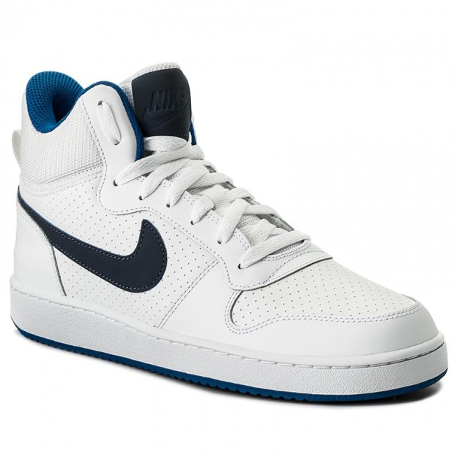 super popular 7748a d1ce4 Scarpe NIKE - Court Borough Mid 838938 103 WhiteThunder BlueBlue Jay