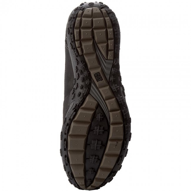 Scarponcini Uomo Caterpillar Black P714151 E Da Scarpe Trekking Utilize Sportive EDH29WI