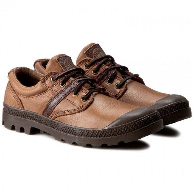 Scarponcini PALLADIUM - Pallabrouse Ox Lea 02534-284 Tan - Scarpe da trekking e scarponcini - Scarpe basse - Uomo