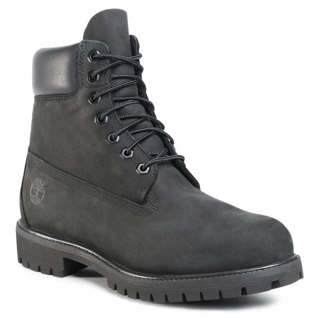 Scarponcini TIMBERLAND - Premium 6 Inch Boot 10073/TB0100730011 Black
