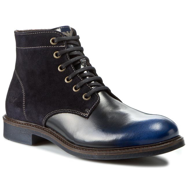 super popular 12f30 4c380 Stivali ARMANI JEANS - B6586 63 L8 Blue - Stivali - Stivali ...