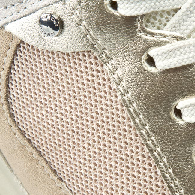 Sneakers GEOX D Nydame A D540QA 01422 C6738 Lt Taupe