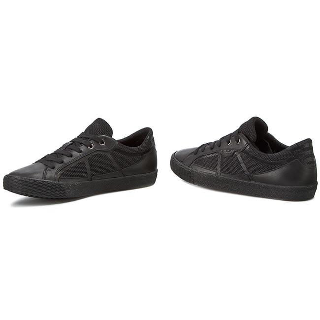 Sneakers GEOX U Smart I U62X2I 01485 C9999 Black