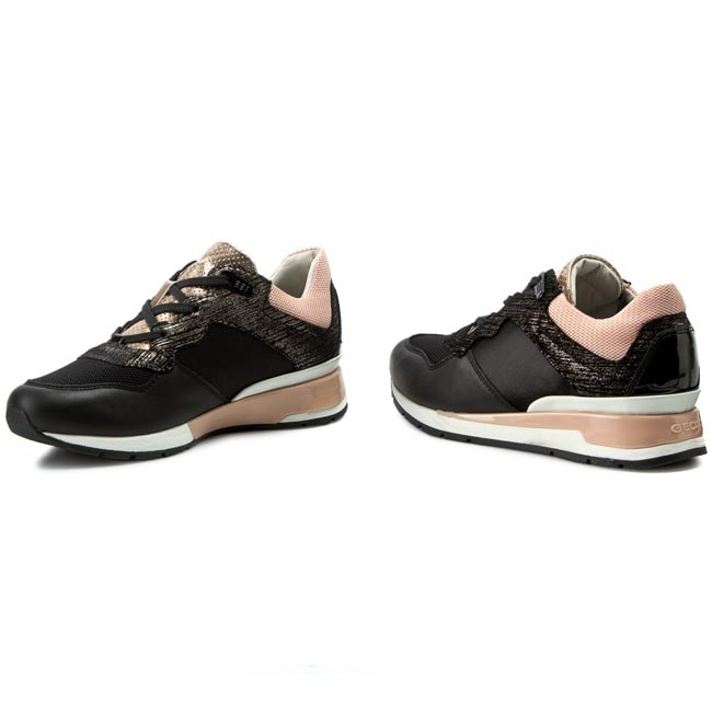Sneakers Geox D Shahira A D44n1a Nero Donna Online