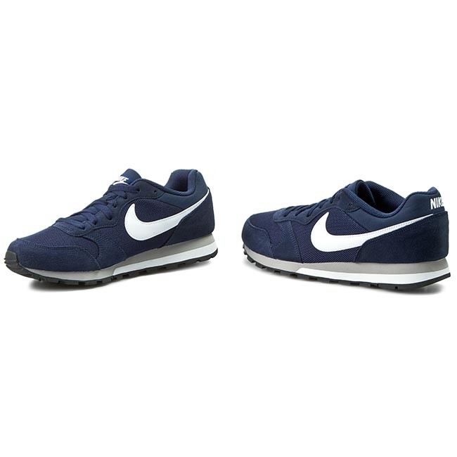 2 749794 Navy wolf white Nike Sneakers Uomo 410 Scarpe Basse Md Midnight Runner Grey b7I6ymfgYv
