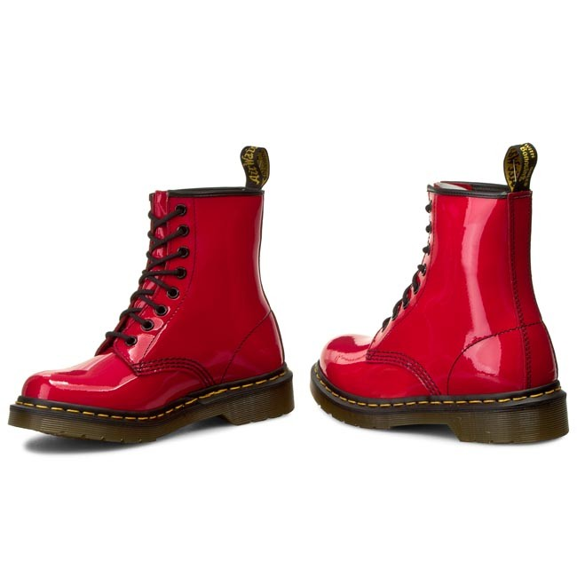 Anfibi DR. MARTENS 1460 W 11821606 Red